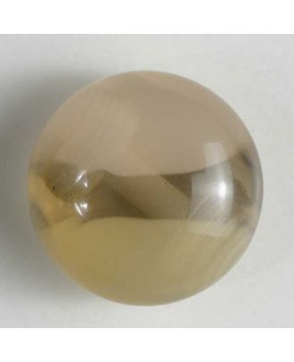 polyester button - Size: 13mm - Color: beige - Art.No. 221206