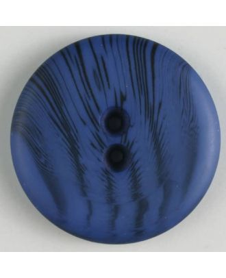 polyester buttons with 2 holes - Size: 23mm - Color: blue - Art.No. 341095