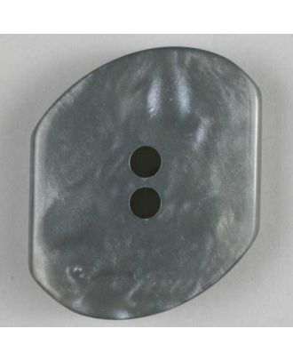 polyester button - Size: 20mm - Color: grey - Art.No. 250755