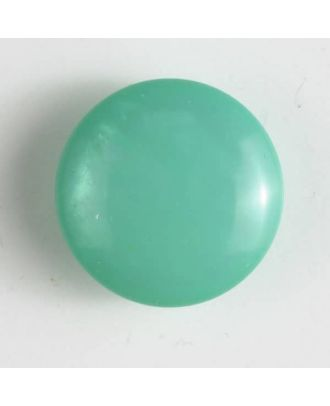 plastic button with shank - Size: 18mm - Color: green - Art.No. 261172
