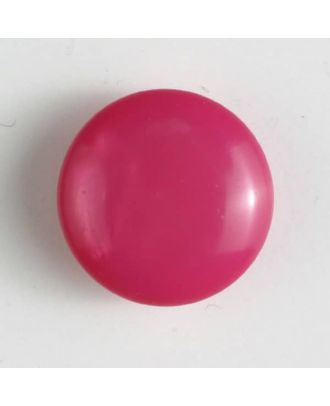 plastic button with shank - Size: 18mm - Color: pink - Art.No. 261173