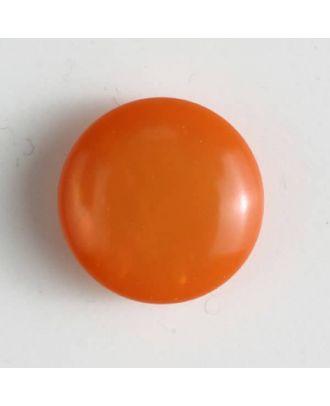 plastic button with shank - Size: 13mm - Color: orange - Art.No. 201444
