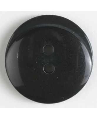 polyester button with holes - Size: 20mm - Color: grey - Art.No. 330864