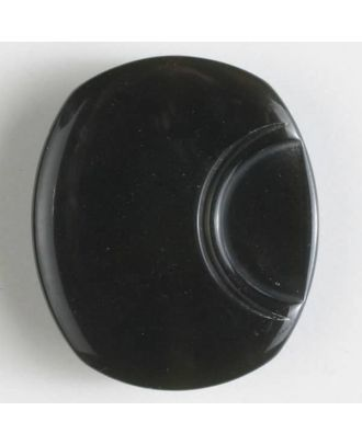 polyester button with holes - Size: 18mm - Color: grey - Art.No. 310793