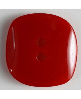 polyester button - Size: 34mm - Color: red - Art.No. 390028