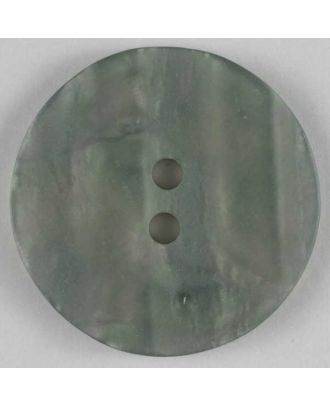 polyester button - Size: 23mm - Color: grey - Art.No. 300385