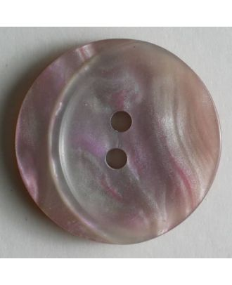 polyester button - Size: 23mm - Color: pink - Art.No. 300446