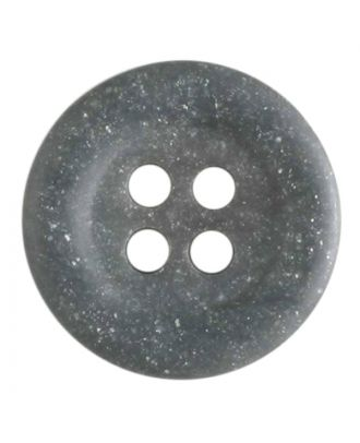 polyester button - Size: 20mm - Color: grey - Art.No. 270421