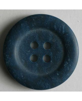 polyester button - Size: 20mm - Color: blue - Art.No. 270423