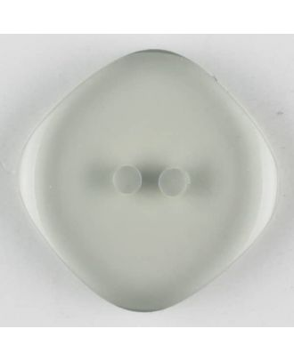 polyester button, 2 holes - Size: 23mm - Color: grey - Art.-Nr.: 343700
