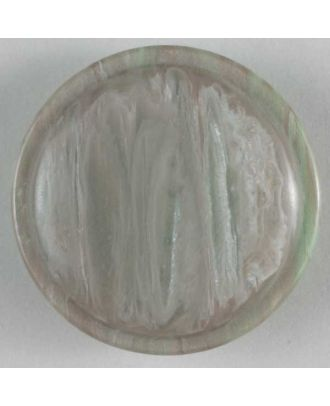 polyester button - Size: 20mm - Color: grey - Art.No. 270439