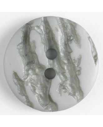 polyester buttons with 2 holes - Size: 25mm - Color: grey - Art.No. 370643
