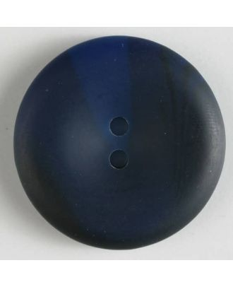 fashion button - Size: 34mm - Color: navy blue - Art.-Nr.: 370212