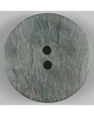polyester button - Size: 20mm - Color: grey - Art.No. 270489