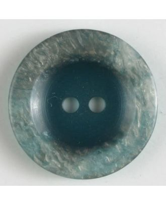 polyester button 2 holes - Size: 18mm - Color: green - Art.No. 251336