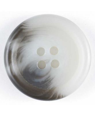 polyester button - Size: 20mm - Color: grey - Art.No. 231477
