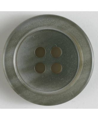 fashion button - Size: 38mm - Color: grey - Art.-Nr.: 400027