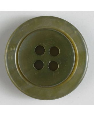 fashion button - Size: 25mm - Color: green - Art.-Nr.: 320541