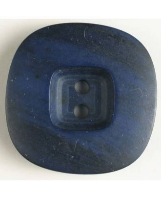 2-hole polyester button - Size: 34mm - Color: navy blue - Art.No. 400074