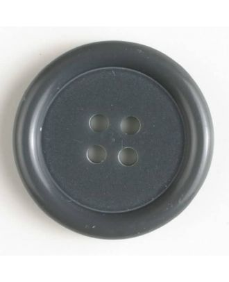 fashion button - Size: 20mm - Color: grey - Art.-Nr.: 231610