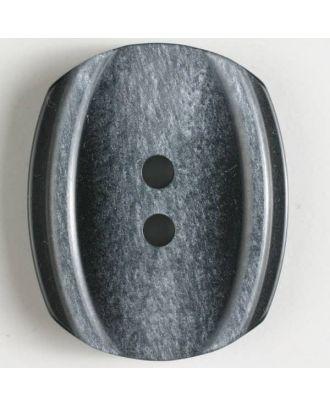 fashion button - Size: 34mm - Color: black - Art.-Nr.: 400123