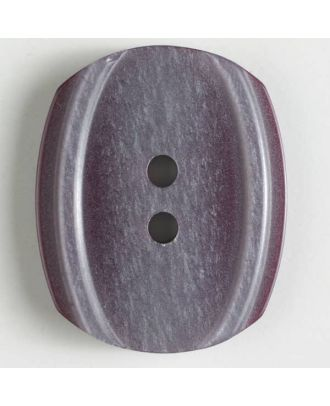 2-hole polyester button - Size: 34mm - Color: lilac - Art.No. 400125