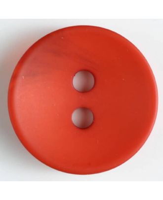 fashion button - Size: 34mm - Color: red - Art.-Nr.: 400136
