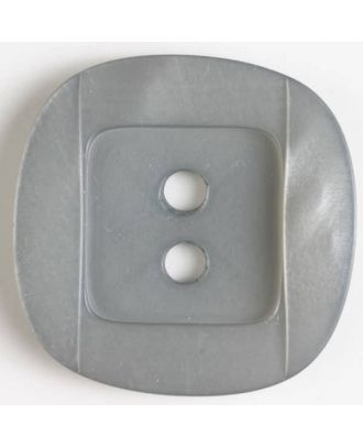 plastic button - Size: 34mm - Color: grey - Art.No. 400151