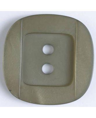 plastic button - Size: 25mm - Color: brown - Art.No. 370532