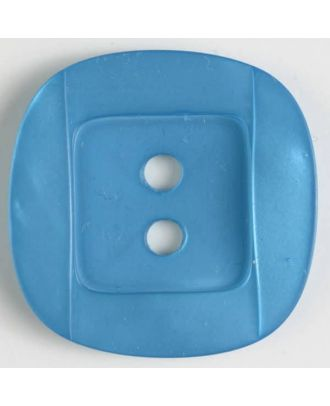 plastic button - Size: 34mm - Color: blue - Art.No. 400154