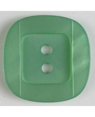 plastic button - Size: 34mm - Color: green - Art.No. 400155
