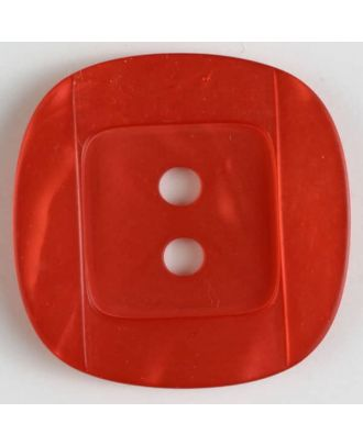 plastic button - Size: 34mm - Color: red - Art.No. 400158