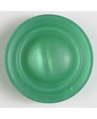 polyester button with shank - Size: 34mm - Color: green - Art.No. 400179