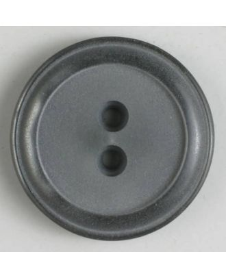 polyester button - Size: 30mm - Color: grey - Art.No. 380277