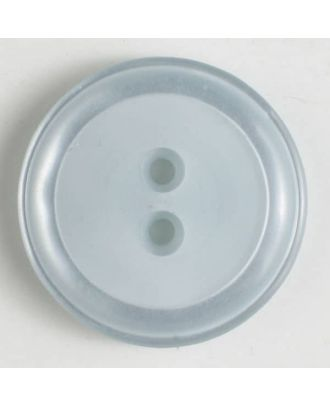 polyester button - Size: 18mm - Color: blue - Art.No. 310738