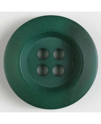 polyester button 4 holes - Size: 34mm - Color: green - Art.No. 400168