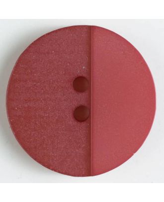 polyester button with holes - Size: 23mm - Color: pink - Art.No. 341087