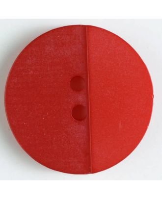 polyester button with holes - Size: 18mm - Color: red - Art.No. 310823