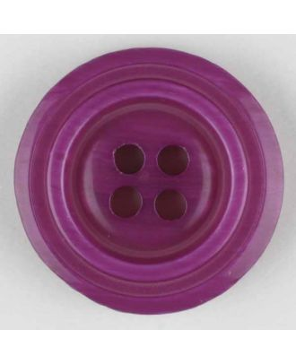polyester buttons with 4 holes - Size: 25mm - Color: lilac - Art.No. 370680