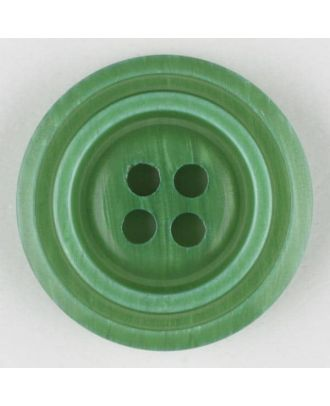 polyester buttons with 4 holes - Size: 20mm - Color: green - Art.No. 331000