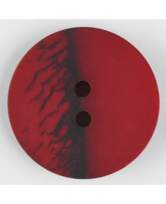 polyester button, round, 2 holes - Size: 23mm - Color: wine red - Art.-Nr.: 344709