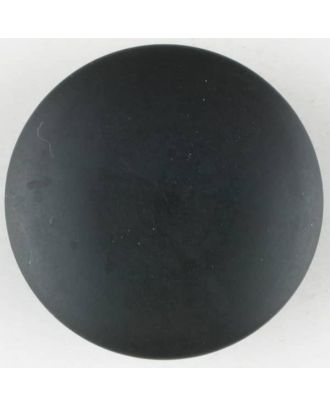 polyester button, round, with shank - Size: 28mm - Color: black - Art.No. 380332