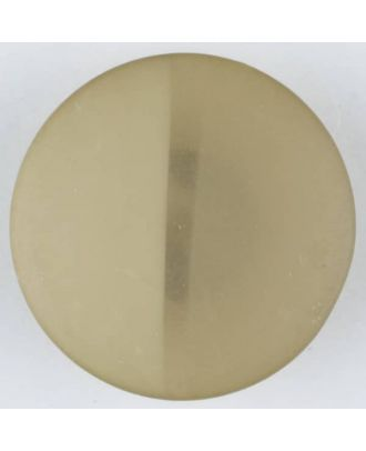 polyester button, round, with shank - Size: 28mm - Color: beige - Art.No. 385714