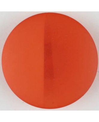 polyester button, round, with shank - Size: 28mm - Color: red - Art.No. 385721