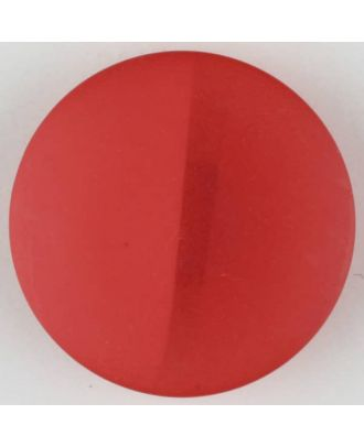 polyester button, round, with shank - Size: 28mm - Color: red - Art.No. 385722