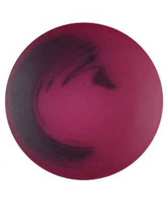 polyester button with shank - Size: 25mm - Color: pink - Art.No. 377706