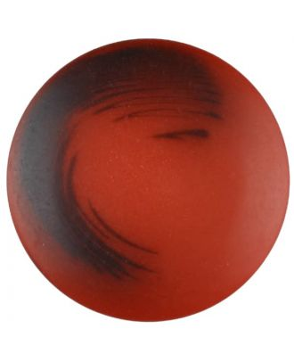 polyester button with shank - Size: 30mm - Color: red - Art.No. 387709