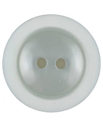 polyester button with 2 holes - Size: 28mm - Color: grey - Art.No. 387713