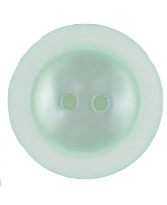 polyester button with 2 holes - Size: 28mm - Color: green - Art.No. 387718