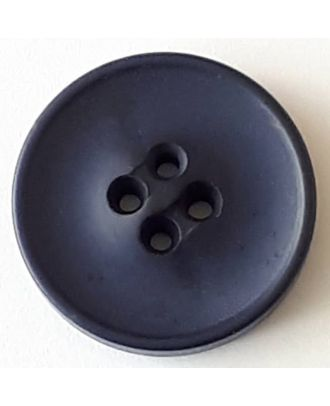 polyester button with 2 holes - Size: 30mm - Color: navy blue - Art.No. 388706